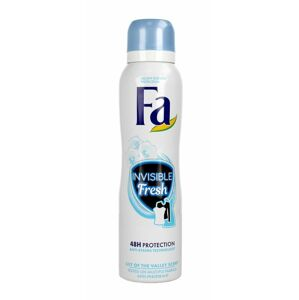Fa antiperspirant Invisible Fresh s vôňou konvalinky deodorant sprej 150ml