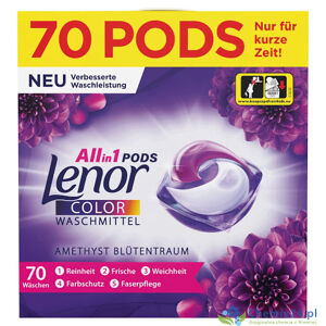 Lenor Color Flower Bouquet gélové kapsule 70ks