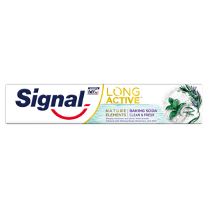 Signal Long Active Nature Elements Baking Soda zubná pasta 75 ml