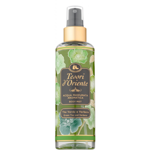 Tesori D' Oriente Tesori d'Oriente Green tea and Verbena parfémovaný telový spray 200ml