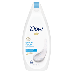 Dove Gentle Exfoliating sprchový gél 500ml