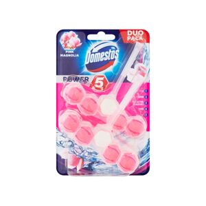 Domestos Power 5 Pink Magnolia 2x55g