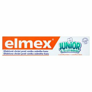Elmex zubná pasta Junior 6-12 75ml